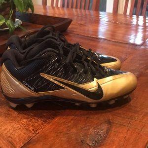 Boys Nike Alpha Pro Football Cleats Sz: 7.5